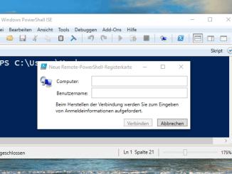 Remotezugriff mit der Windows PowerShell konfigurieren