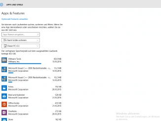 Windows 10 - Speicheroptimierung - Storage Sense -Detalliert