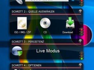 Linux-bootbaren USB-Stick erstellen