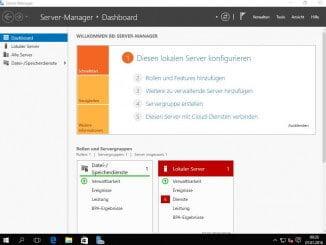 Windows Server 2016 - Installation - Deutsch - fertige Installation