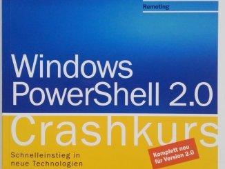 Buchempfehlung Windows PowerShell Crashkurs