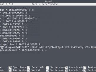 Linux Passwort zurücksetzen: /etc/shadow - HASH löschen