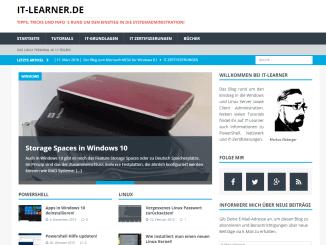 IT-Learner mit neuem Blog Design