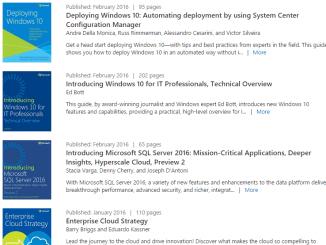 Kostenlose Windows E-Books zum download
