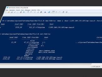 Netzlaufwerk mit der Windows PowerShell einbinden!