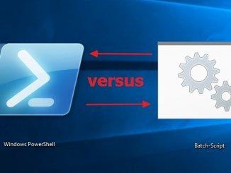 Thumbnail Umfrage Windows PowerShell und Batch Scripting
