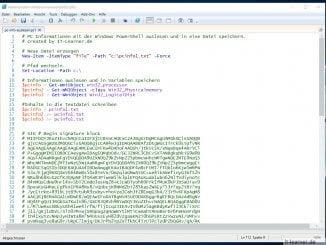 Windows PowerShell vollständig signiertes Script