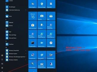 Per Tastenkombination das Windows Startmenü vergrößern