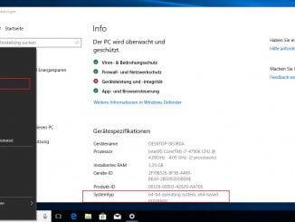 Windows Version über die grafische Oberfläche auslesen
