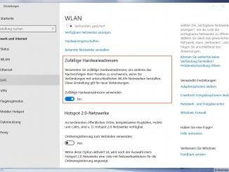 Unter Windows 10 verschiedene WLAN Einstellungen vornehmen!