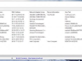 Erkannte verbundene WLAN Geräte im Netzwerk auflisten lassen