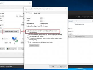 Windows 10 - WLAN Netzwerkadapter - Automatisch mit WLAN verbinden