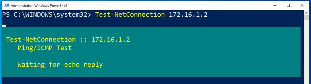 Die Erreichbarkeit Eines Anderen PCs Mithilfe Von Test Netconnection überprüfen