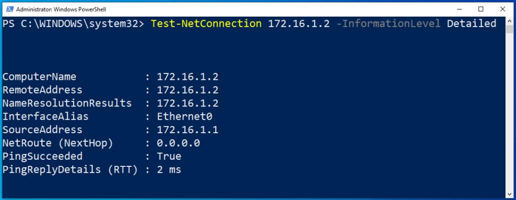 Die Erreichbarkeit Eines Anderen PCs Mithilfe Von Test Netconnection überprüfen Ausführliche Informationen