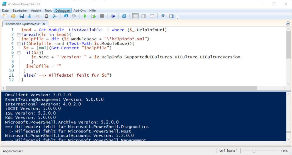 So Kann Man Die Windows PowerShell Hilfe Dateien Updaten