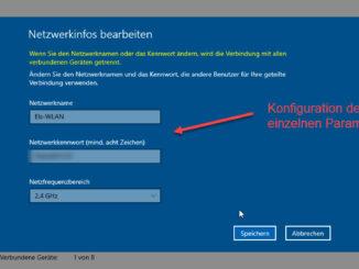 Unter Windows 10 Einen Mobilen Hotspot Einrichten SSID Und Passwort Vergabe