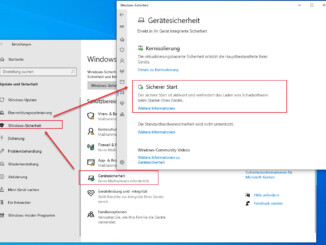 Ist Der Sichere Start Unter Windows 10 Aktiviert