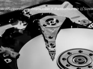 Festplatte Mit Der Windows PowerShell Vergößern Oder Verkleiner Thumbnail