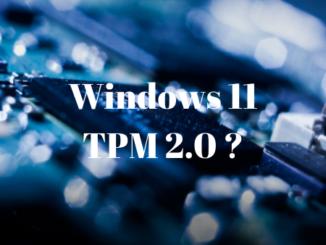 Windows 11 TPM 2.0 Vorhanden