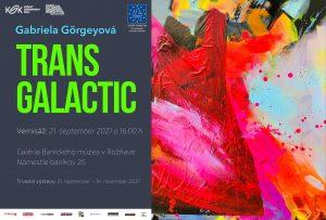 Európai Örökség Napok: TRANS GALACTIC - kiállítás a Galériában