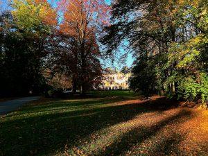 Őszi séta a betléri kastély parkjában