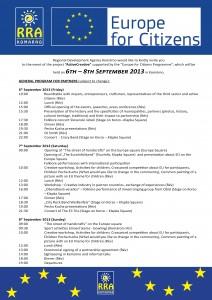 program A4 english