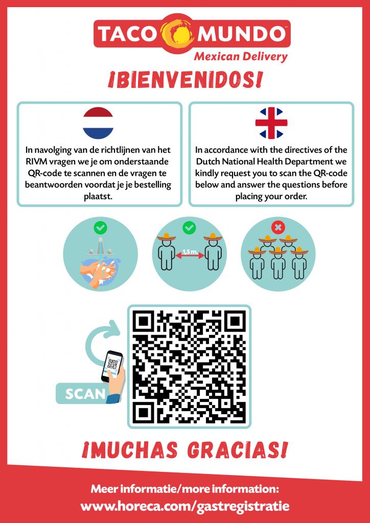 Vragenlijst COVID-19 Taco Mundo