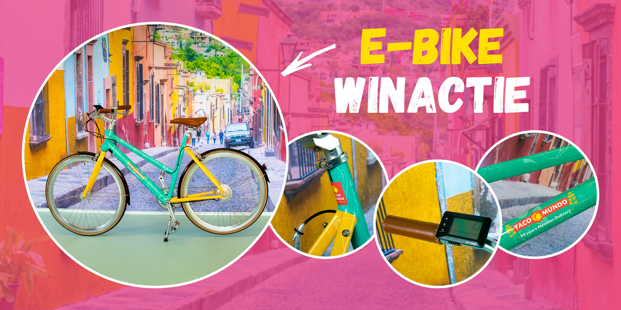 Win een Taco Mundo E-Bike!