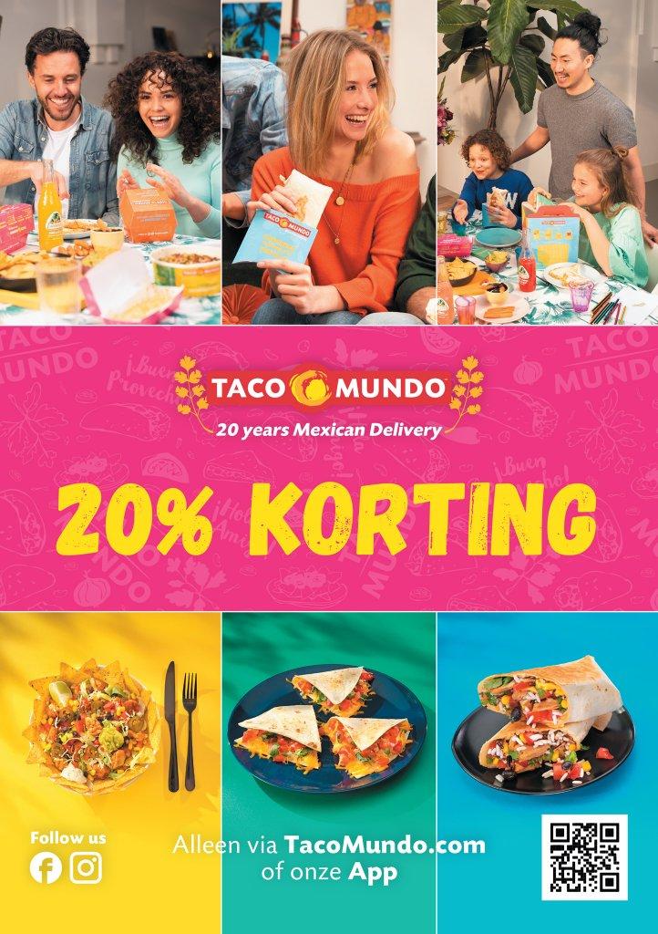 Postkaart: Maak kennis met Taco Mundo
