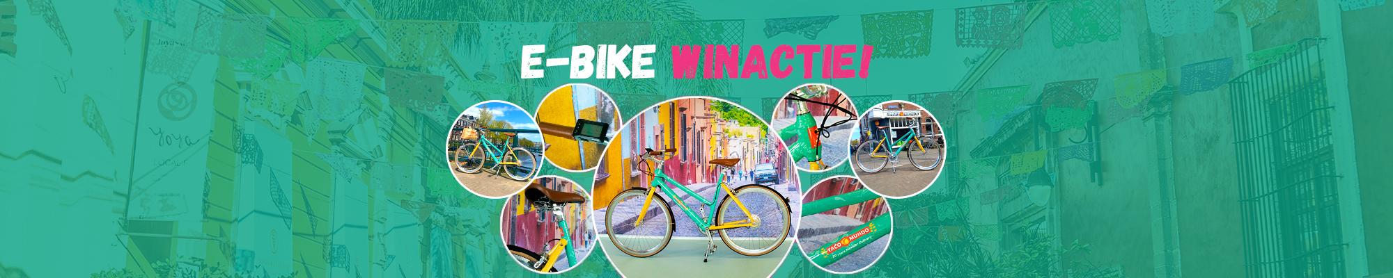 Doe mee en win een unieke Taco Mundo E-Bike