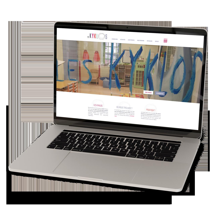 Site internet Les Kyklos