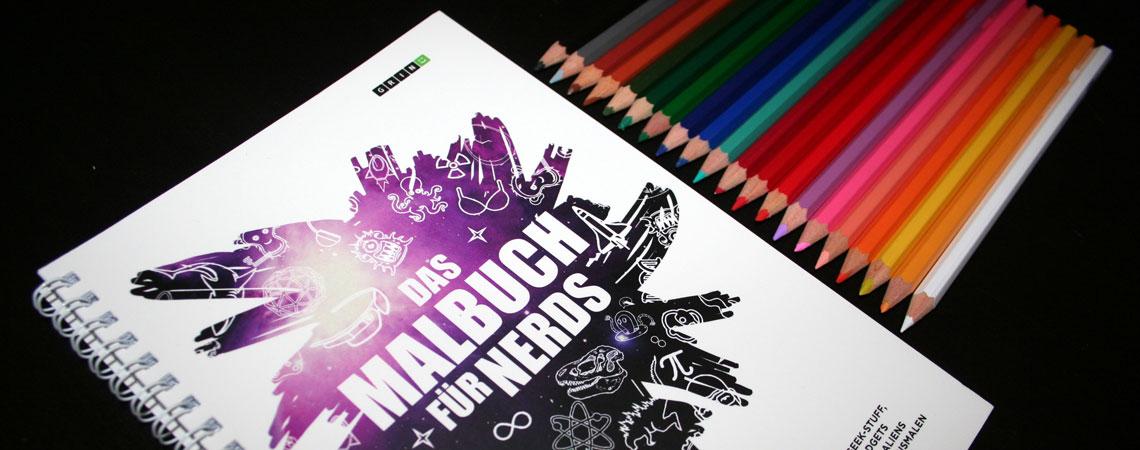Das Malbuch für Nerds: Buchtipp & Verlosung
