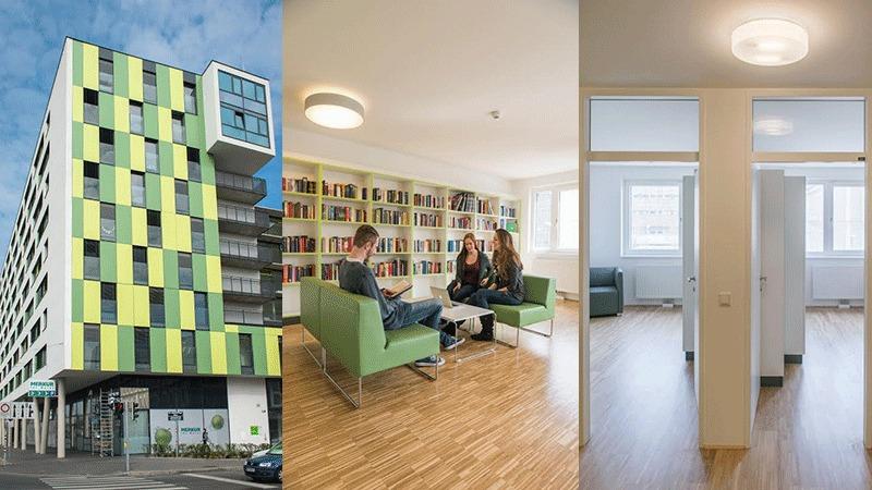 studentenheime in wien dein wegweiser durch den wohnheim. Black Bedroom Furniture Sets. Home Design Ideas