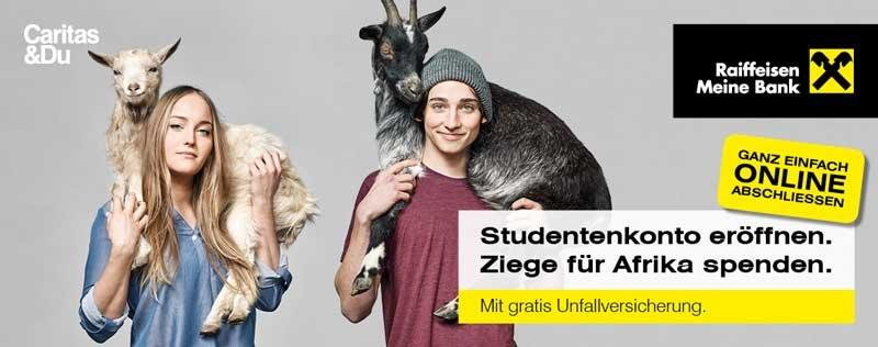 Studentenkonto Raiffeisenkonto