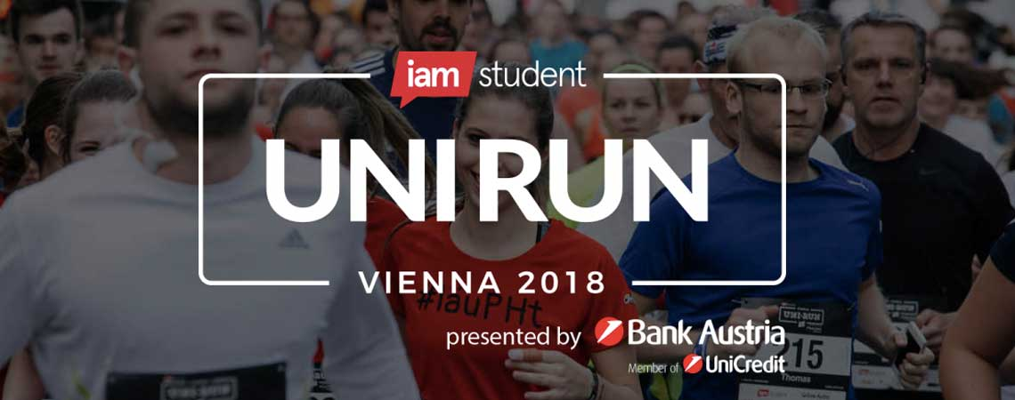 iamstudent Vienna UNI RUN 2018: Get ready to run!