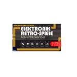 Elektronik Retro Spiele Adventskalender für nur 15,99€ statt 19,99€!
