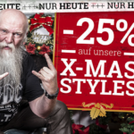 Bis zu -40% auf Christmas-Styles bei EMP!