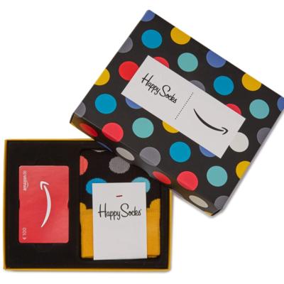 Kostenlose Happy Socks zu deiner Amazon-Geschenkkarte!