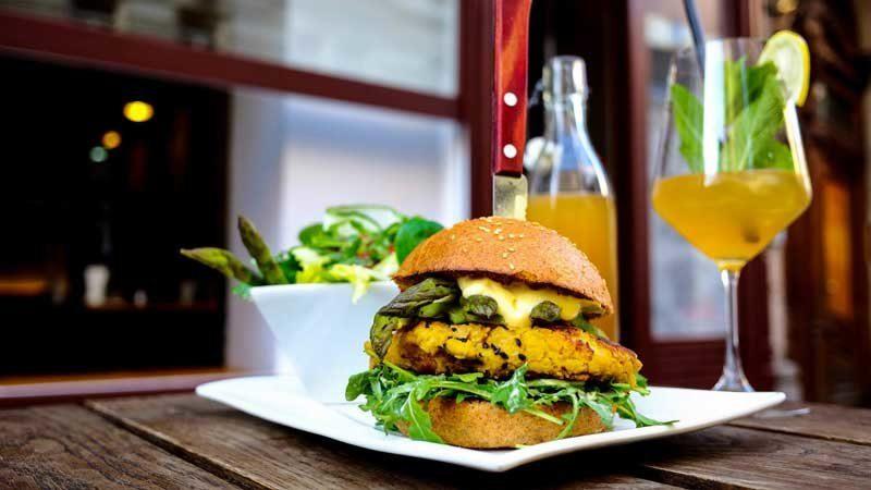 vegane Burger in Wien