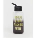 Trinkflasche mit Statement für unter 10€!