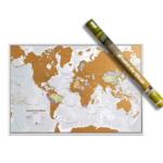 Weltkarte zum Rubbel mit Gutschein um unter 5€!
