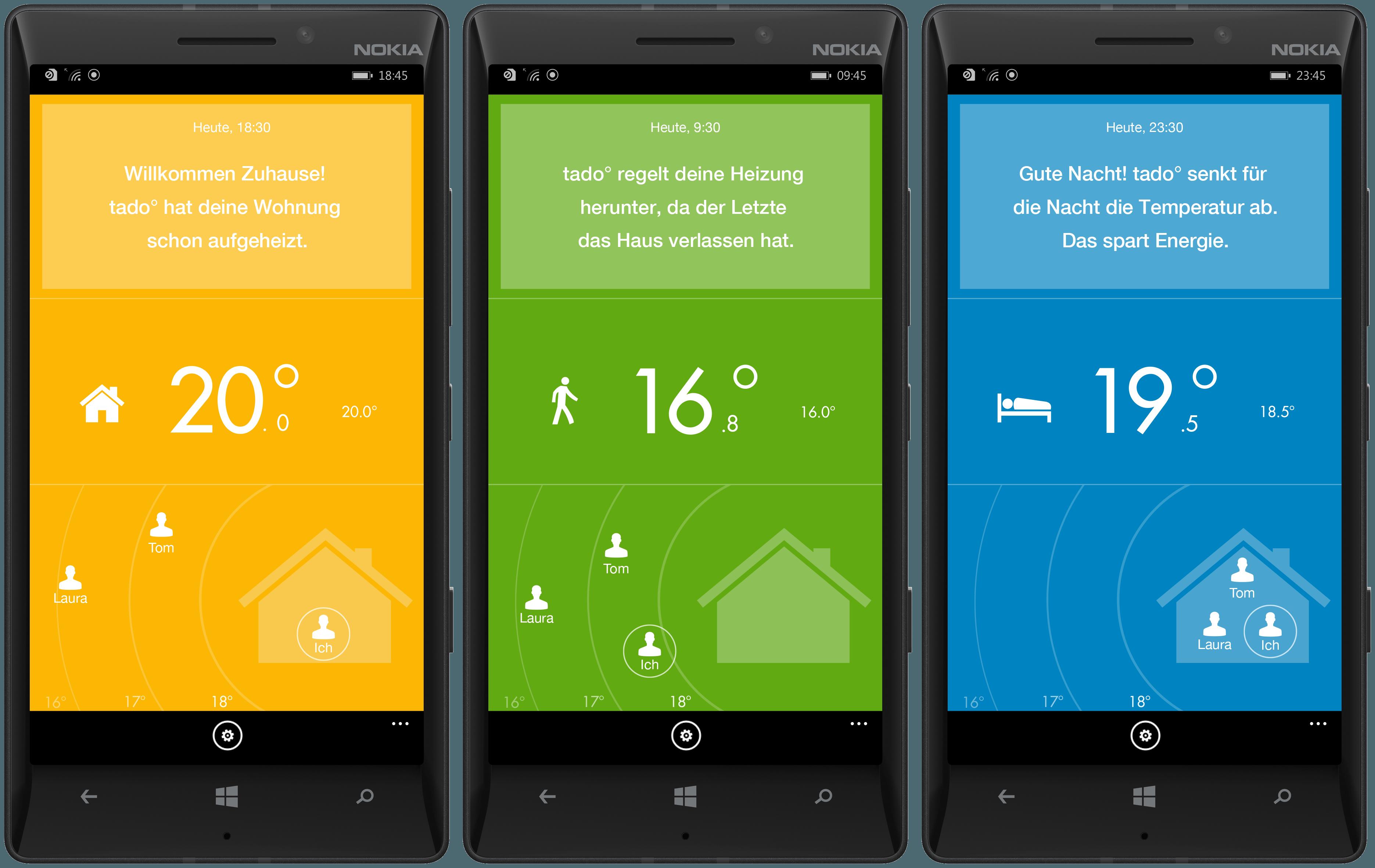 Energiesparen Im Digitalen Zeitalter. Energie Sparen Tado