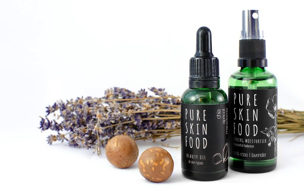 pure skin food naturkosmetik