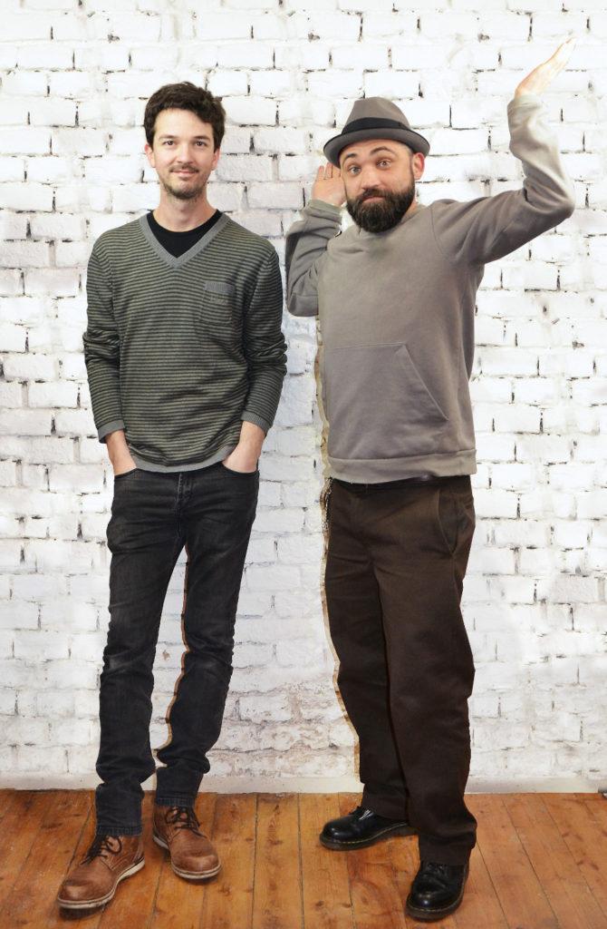 Andreas Moritz und Christoph Markovsky.