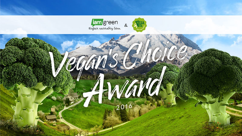 Vegan's Choice Award