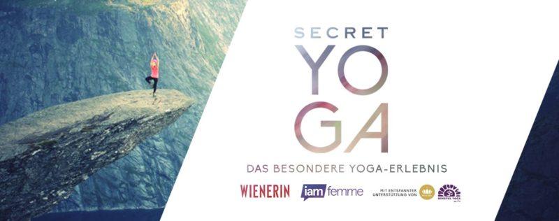 Gewinne Tickets für SECRET YOGA!