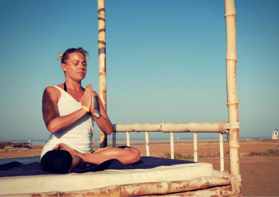 Caroline Demetz von Mindful Yoga mit Caro.