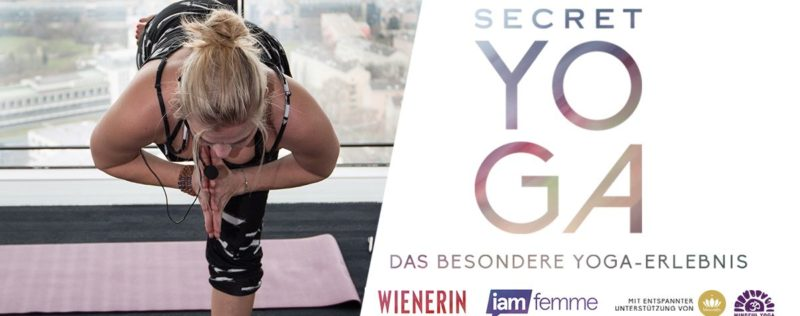 Secret Yoga 1st Edition – Über den Dächern Wiens