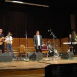 Ghymes koncert – Maga Judit ig.helyettes köszöni a Ghymesnek<br>Ghymes, Nyitra, koncert (foto: Both Gábor)