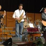 Ghymes koncert – Szarka Gyula, Jelasity Péter, Szarka Tamás<br>Ghymes, Nyitra, koncert (foto: Both Gábor)